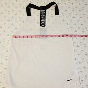 """Nike Tops - Nike Dry-Fit T-Back """"Just Do It"""" Workout Tank"""